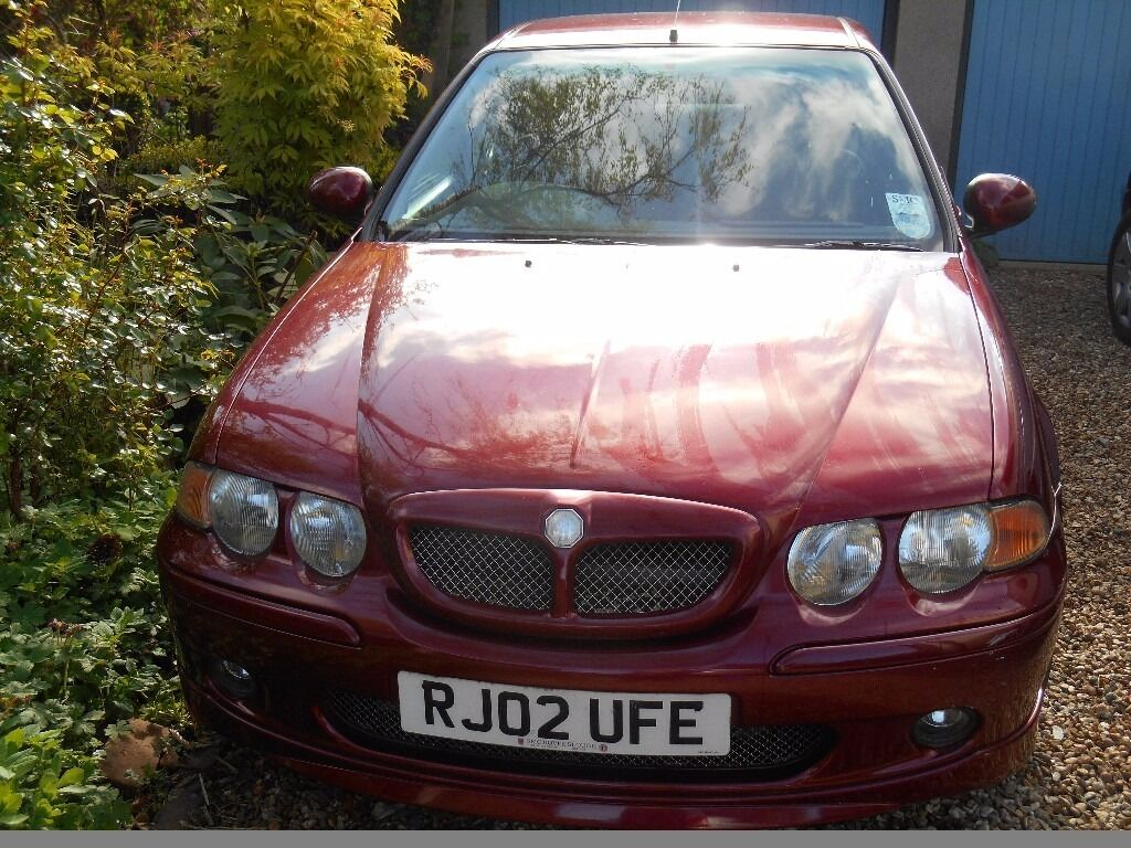 Mg Zs 180 A Clic Sports Saloon 2002