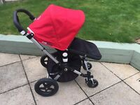 Bugaboo Cameleon 3 Pushchair & Carrycot with Rain cover