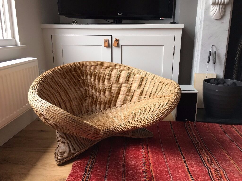Wicker Meditation Chair In Finsbury Park London Gumtree