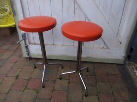 Pair of retro stools
