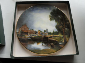 CROWN FONE CHINA STAFFORDSHIRE PLATE