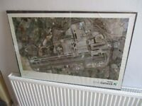 Aerial Photograph Picture Poster - BAA London Gatwick Airport