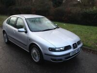SEAT LEON CUPRA 1.8 20V TURBO 2002 180 BHP 2 OWNERS FROM NEW MOT AUGUST 2018