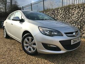 Vauxhall Astra 1.6 i VVT 16v Design 5dr £0 DEPOSIT FINANCE AVAILABLE.