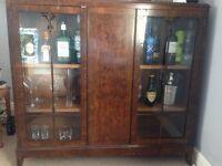 Vintage display / drinks cabinet