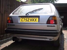 Vw Mk2 Golf 4+e 1.8 gl 5 Speed 115000 miles