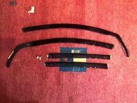 Set of 4 HEKO Car Wind Deflectors , Comes with clips