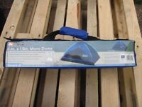 New Ozark Trail 2-person blue dome tent