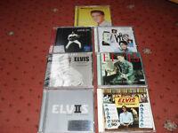 elvis presley cds x 7