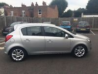 VAUXHALL CORSA, SXI, 1.4, SILVER, 4 DOOR, MANUAL, VERY CLEAN, CHEAP INSURANCE AND DRIVES PERFECTLY