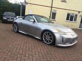 2003 53.REG NISSAN 350Z GT CONVERTIBLE FULLY MODIFIED NEEDS ATTENTION