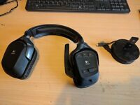 - Logitech G930 wireless PC gaming headset.