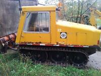 bombadier plow to trade for small skidder