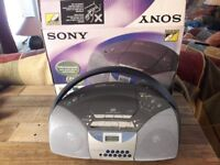 Sony CFD-5400L Portable CD Radio Cassette