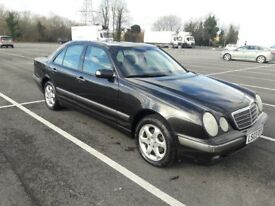 Mercedes E240 Elegance Auto FSH, New Mot and Just Serviced
