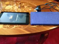 Amazon fire HD8 WITH CASE