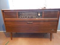 Grundig radiogram retro style