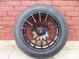 MITSUBISHI ALLOY WHEEL AND TYRE - BRAND NEW