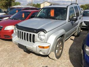 2004 Jeep Liberty Limited CALL 519 485 6050 CERT AND E TESTED