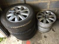 4x100 16 inch Renault alloys may fit vw, Vauxhall
