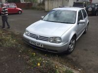 Vw golf mk4 good condition swap