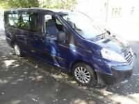 FIAT SCUDO 8 SEAT BUS CREW CAB VAN NOT CITROEN DISPATCH PEUGEOT EXPERT VAUXHALL VIVARO MERCEDES VITO