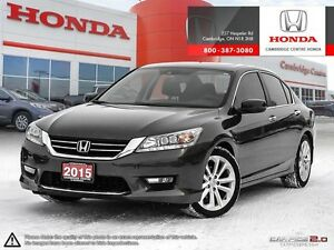 2015 Honda Accord Touring GPS NAVIGATION | LEATHER INTERIOR |...