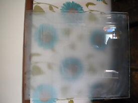 frosted glass splashback