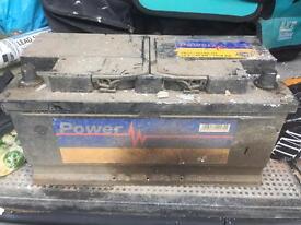 Very very big van battery