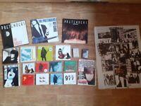 21 x the pretenders vinyl / cd collection