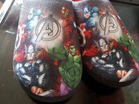 Mens/lads avengers slippers