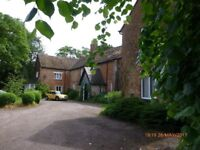 Room available in larged shared historic house in rural location.