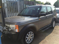 15 2007 57 plate Land rover Discovery Tdv6 Xs A diesel long mot april 2017 with tow bar