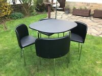 Hygena Kitchen Table & 4 Chairs
