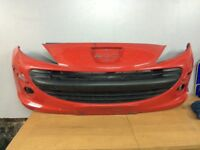 Peugeot 207 front bumper 06-09