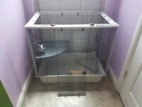Large cage for ferret, rat or rabbit