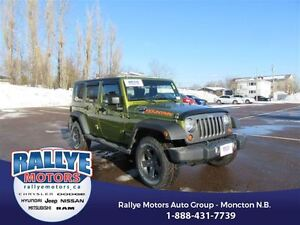 2010 Jeep WRANGLER UNLIMITED Sport! 4x4! ONLY 62K! Alloy! Save!