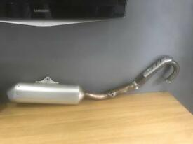 2012 kxf 250 full exhaust system