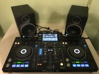 Pioneer XDJ-RX With Paid of Mackie MR5 MK3 Studio Monitors (8 MONTHS OLD)