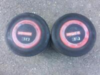 30kg pair of escape dumbbells