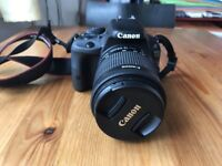 CANON 100D DSLR CAMERA + ACCESSORIES, LIKE NEW. ONLY £250