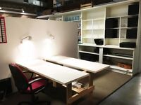 *** NEW OFFER *** Central Shoreditch creative co-working desks available ! £225/m, 150mb/broadband