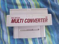 Super Nintendo DIS-SFC01 Multi Game Converter SNES Very Rare