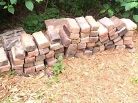 Bricks rubble used bricks rubble hard core patio flooring