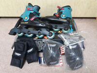 Spirit Rollerblades (size 27.0/UK 8), excellent condition, original box