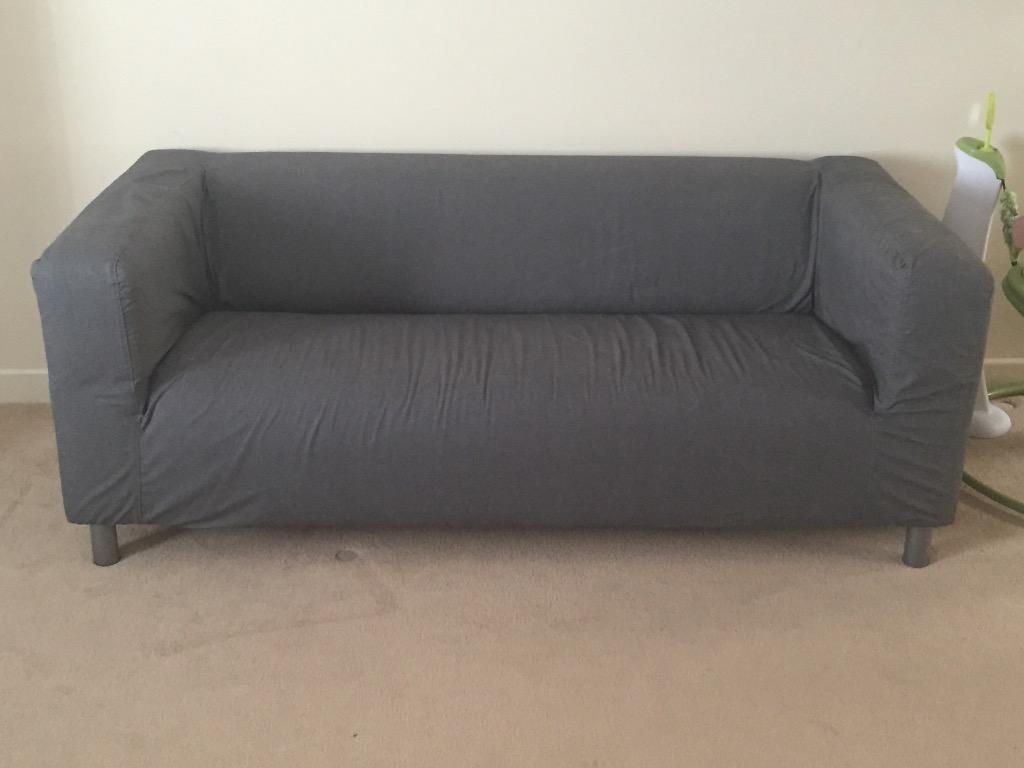 Ikea 2 Seater Grey Sofa 6 Months Old Used As Spare