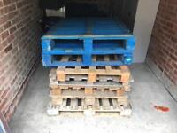 Free wood pallets, firewood