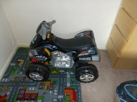 Childs ride on 12 volt quad bike