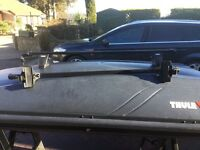 Thule Citroen Picasso roof bar system with locks and keys BRAND NEW NEVER USED AS I CHANGE CAR.