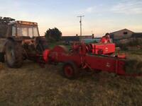 International b46 square baler